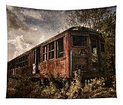 Vintage Rail Car Tapestry