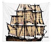 Vintage Sails Tapestry