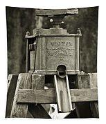 Vintage Water Pump Tapestry