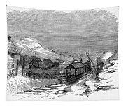 Virginia: Salt Mine, 1857 Tapestry
