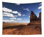 Visions Of Monument Valley  Tapestry