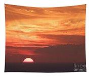 Waikiki Sunset No 4 Tapestry