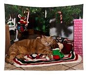 Waiting For Santa Tapestry