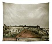 Walls Of Dubrovnik Tapestry