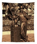 Walt And Mickey California Adventure Tapestry
