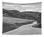 Wandering In West Virginia Monochrome Tapestry