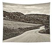 Wandering In West Virginia Sepia Tapestry