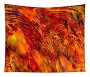 Warmth And Charm - Abstract Art Tapestry