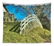 Warwick's Curve Tapestry