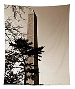 Washington Monument In Sepia Tapestry