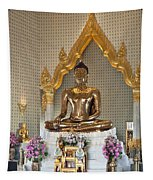 Wat Traimit Golden Buddha Dthb964 Tapestry
