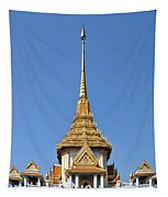 Wat Traimit Phra Maha Mondop Of The Golden Buddha Dthb956 Tapestry