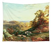 Watching The Flock Tapestry