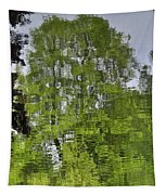 Water Color Reflections Tapestry