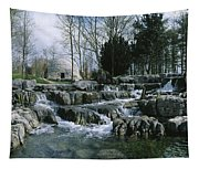 Water Flowing In A Garden, St. Fiachras Tapestry