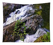 Water Running Down Ledge Tapestry