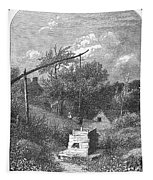 Water Well, C1880 Tapestry