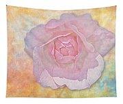 Watercolor Rose Tapestry