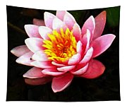 Waterlily On Pond Tapestry