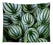Watermelon Leaves Tapestry