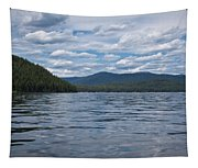 Wave Shadows Tapestry