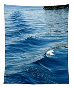 Waves On Tahoe Tapestry