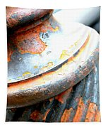 Weathered Column  Tapestry