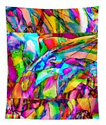Welcome To My World Triptych Tapestry