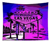Welcome To Vegas No.2 Tapestry