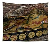 Wespe 105 Mm Self-propelled Gun Tapestry