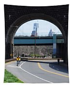 West River Drive Philadelphia Tapestry