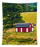 West Virginia 2 Paint Tapestry