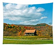 West Virginia Homestead Tapestry