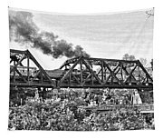 Western Maryland Railroad Tapestry