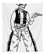 Western Outlaw Tapestry