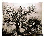 Western Winter Tree Tapestry