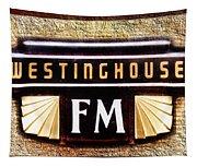 Westinghouse Fm Logo Tapestry