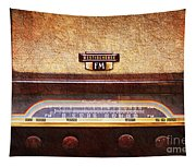 Westinghouse Fm Rainbow Tone Radio Tapestry