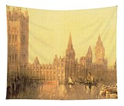 Westminster Houses Of Parliament Tapestry