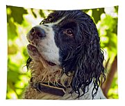 Wet Puppy Tapestry