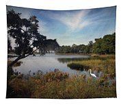 Wetlands - Oil Painting Effect Tapestry