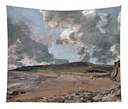 Weymouth Bay With Jordan Hill Tapestry