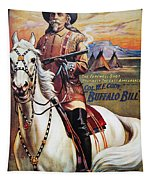 W.f. Cody Poster, 1910 Tapestry