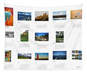 What A Wonderful World Calendar 2012 Tapestry