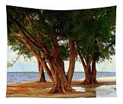 Whispering Trees Of Sanibel Tapestry
