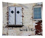 White Brick Tapestry