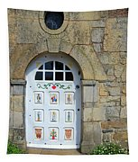 White Door Provence France Tapestry