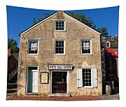 White Hall Tavern Harpers Ferry Virginia Tapestry