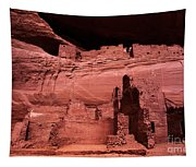 White House Ruin New Mexico Tapestry