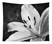 White Lilly  Tapestry